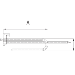 1200W Termosifon Rezistansı